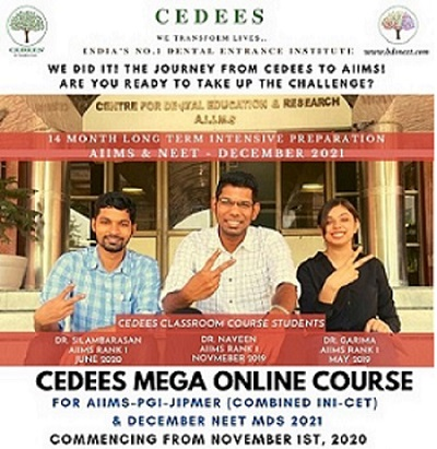 CEDEES MEGA ONLINE COURSE FOR DEC 2021 cover
