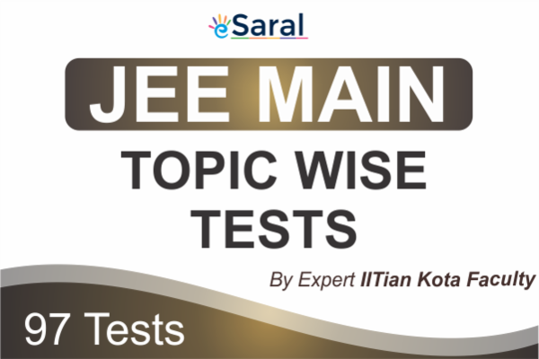 JEE Main Topicwise Test Series cover