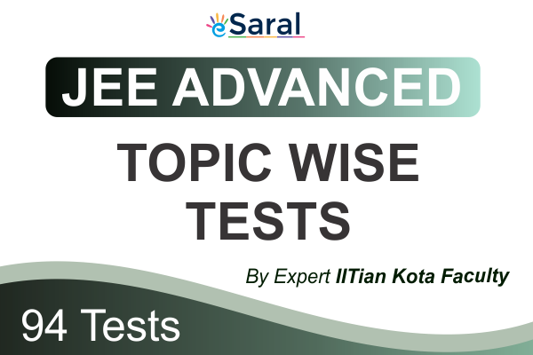 JEE Advanced Topicwise Test Series cover