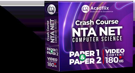NTA UGC NET - Crash Course cover