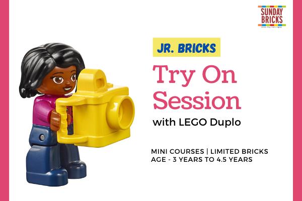 Jr Bricks - Try On Session cover