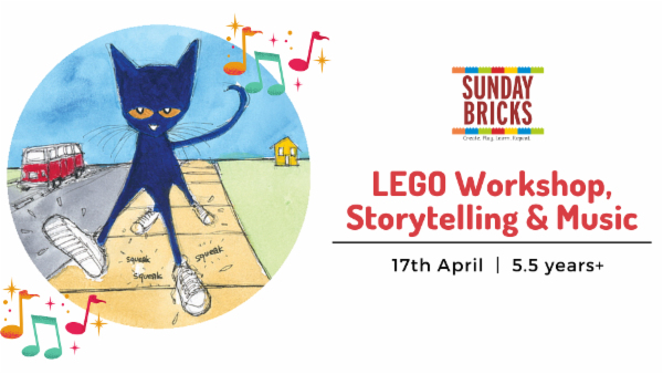 Pete the Cat - LEGO Workshop cover