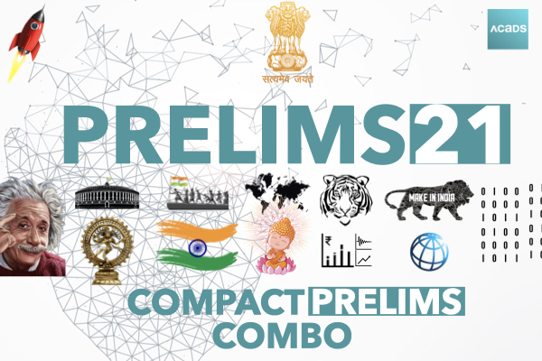 Acads Compact Prelims Combo 2021 cover