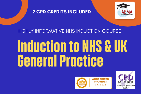 Induction to NHS and UK General Practice cover