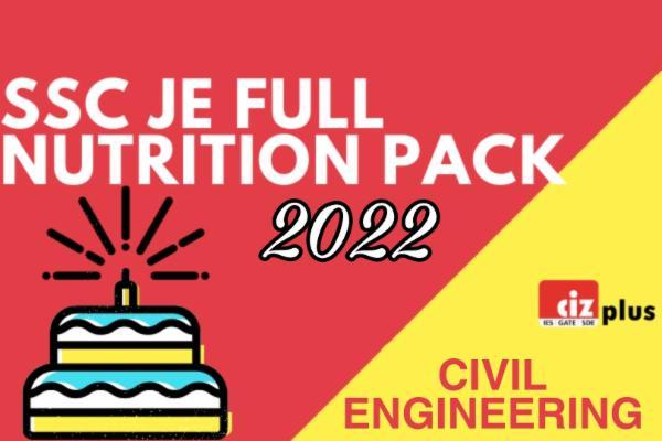 SSC JE Full Nutrition Pack (CIVIL) cover