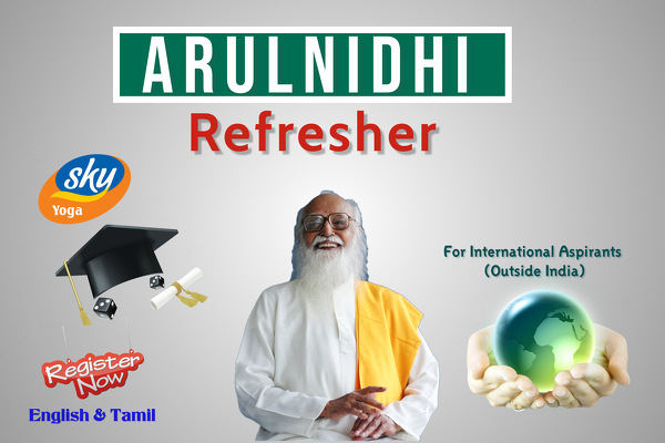 Arulnidhi Refresher Course- English/Tamil cover