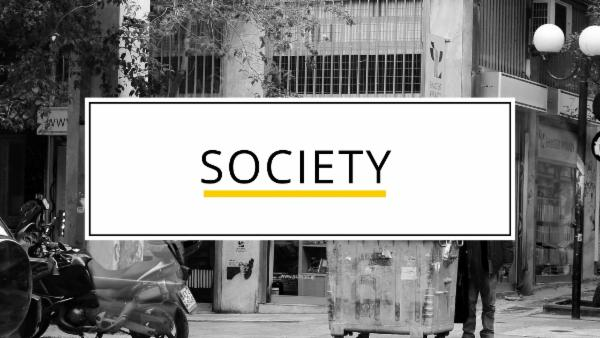 Society cover