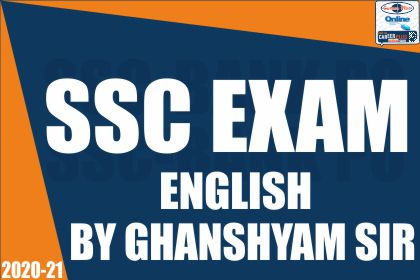 SSC Exam: English Special by Ghanshyam Sir cover