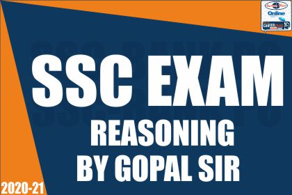 SSC Exam: Reasoning Special by Gopal Thakur Sir cover