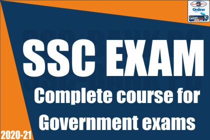 SSC Exam: Complete Course For Government Exams cover