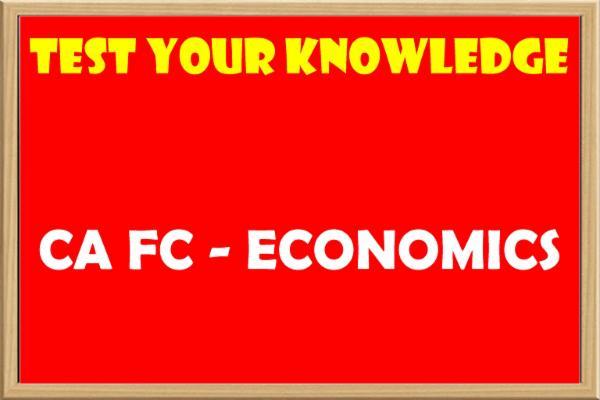 Economics - MCQ cover