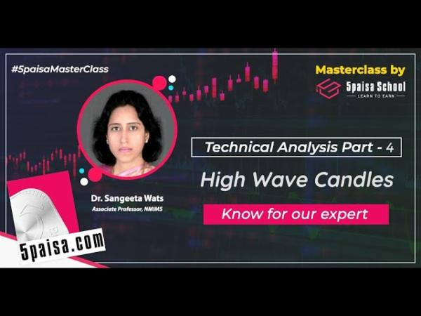 Technical Analysis Part -4, High Wave Candles| Doji Candle| Market Fluctuations| Trend| English cover