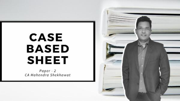Paper-2 Case Based Sheet cover