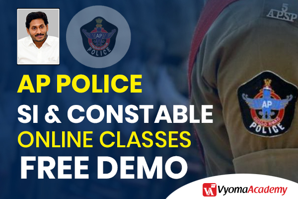 Join Free Demo AP Police SI & Constable Online Classes in Telugu cover