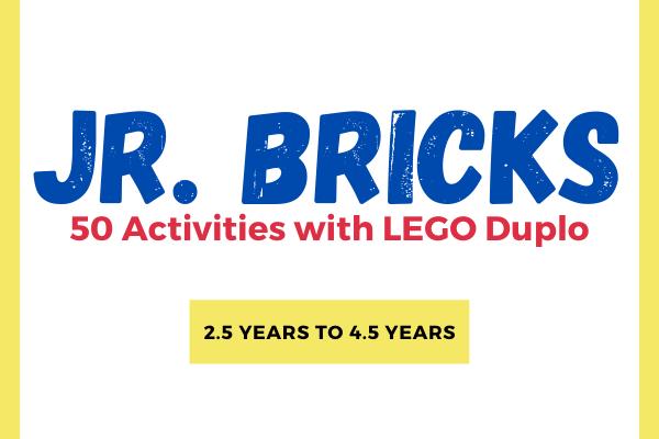 Jr. Bricks - 50 LEGO Activities cover