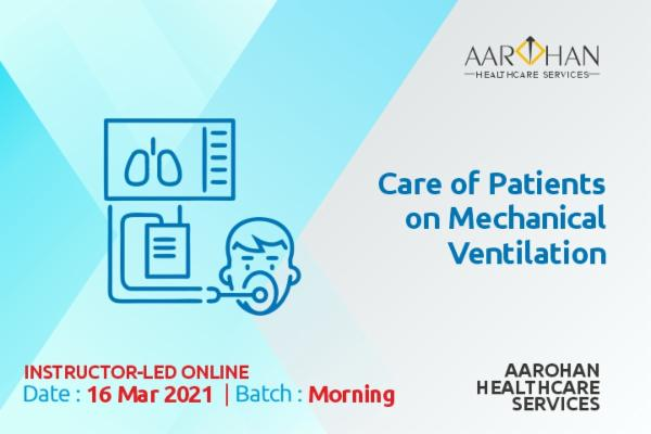 Care of Patients on Mechanical Ventilation (Morning) cover