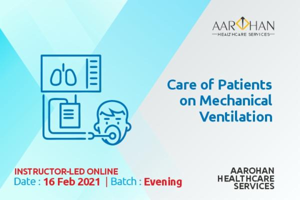 Care of Patients on Mechanical Ventilation (Evening) 16 FEB cover