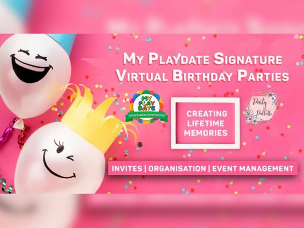 My Playdate Virtual Birthday Parties cover