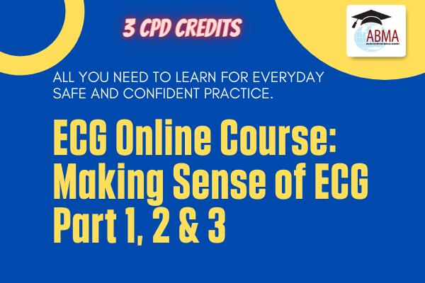 ECG Online Course: Part 1, 2 & 3 cover