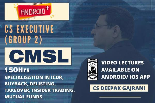 Capital Market & Security Laws - (Android + / IOS+) cover