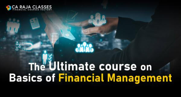 The Ultimate course on Basics of Financial Management cover