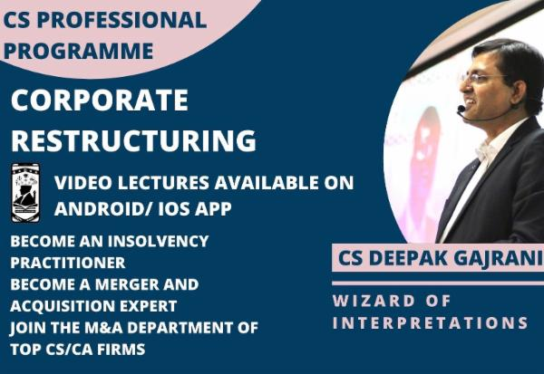 OMS_CS PROF - Corporate Restructuring - Android cover