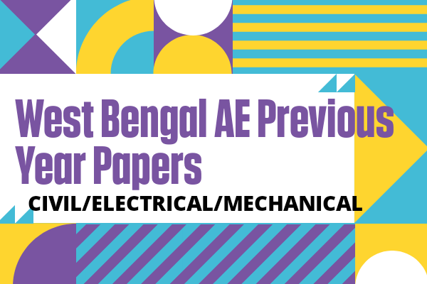 WBPSC AE West Bengal Previous Year Papers Free Download (Civil) cover