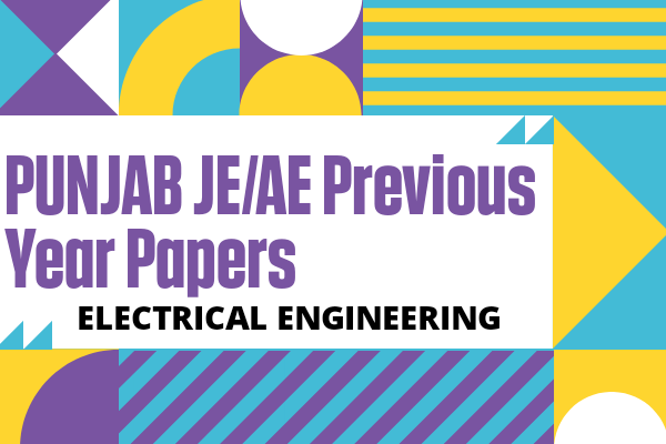 Punjab JE/AE Previous Year Questions for Electrical cover