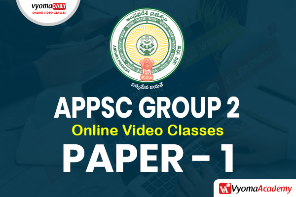 APPSC Group 2 - Paper 1 Online Coaching Classes in Telugu cover
