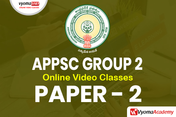 APPSC Group 2 - Paper 2 Online Coaching Classes in Telugu cover