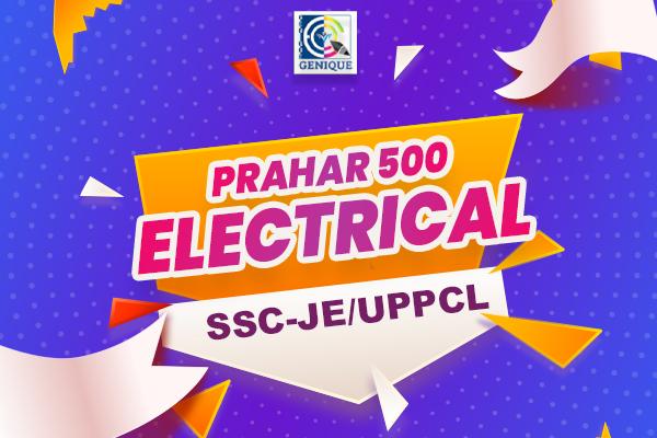 प्रहार 500 ( SSC-JE + UPPCL ) LIVE CLASSES cover