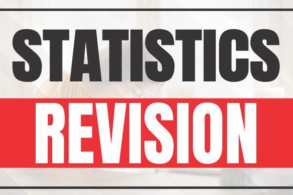 Statistics Revision cover
