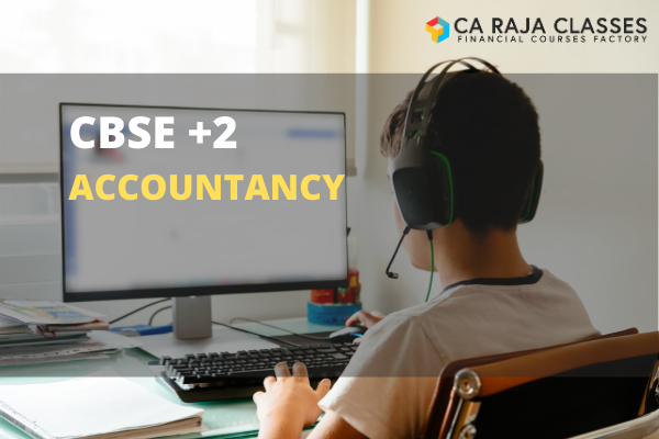 CBSE +2 Tuition - Accounting cover