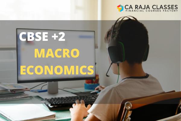 CBSE +2 Tuition - Macro Economics cover