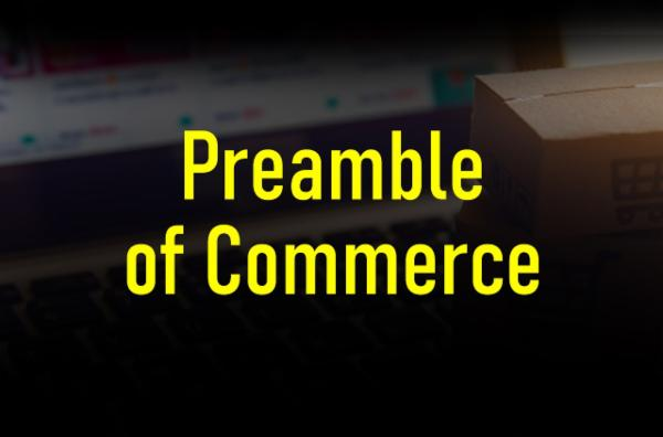 Preamble of Commerce cover