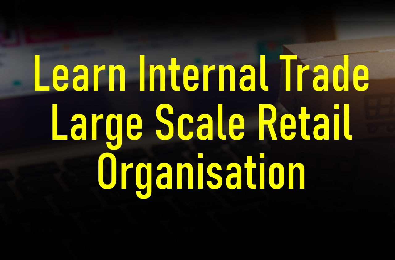 Learn Internal Trade - Large Scale Retail Organisation cover
