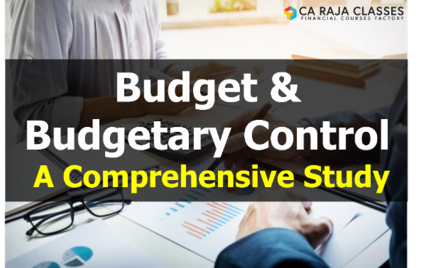 Budget and Budgetary Control - A Comprehensive Study cover