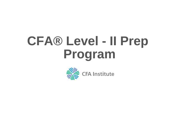 CFA® Level II Prep Course cover