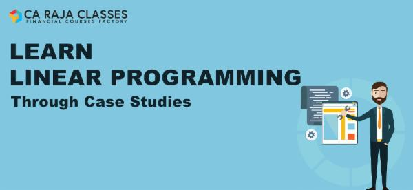 Learn Linear Programming through Case Studies cover