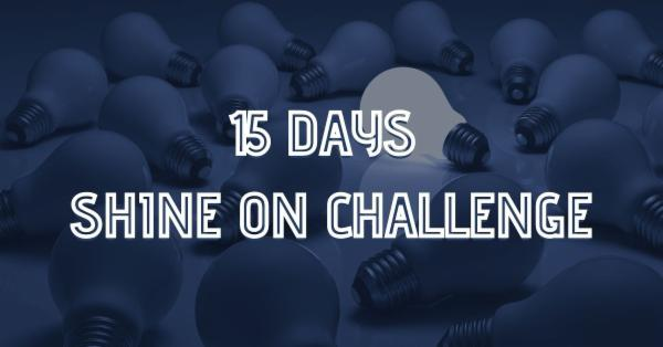 15 Days Shine On Challenge cover