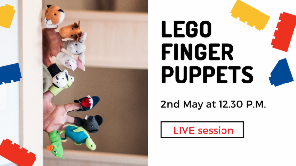 LEGO Finger Puppets cover