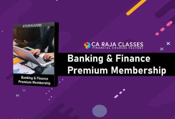 Banking & Finance Premium Membership cover
