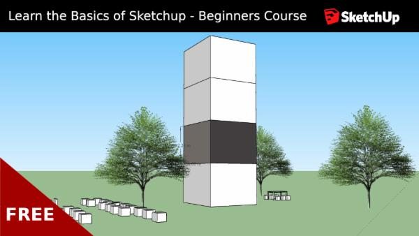 Learn the Basics of Sketchup - Beginners Course cover