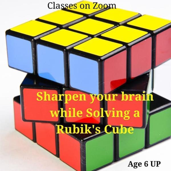 Solving Rubik's Cube cover