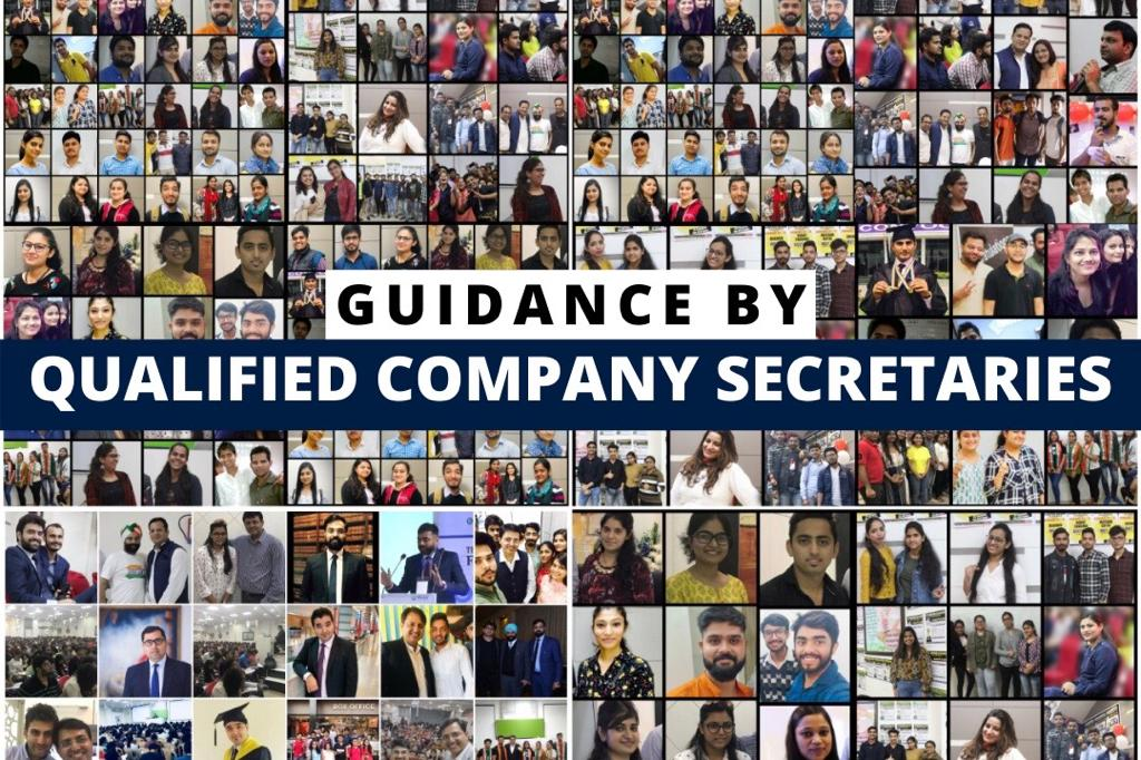 Guidance by Qualified Company Secretaries cover