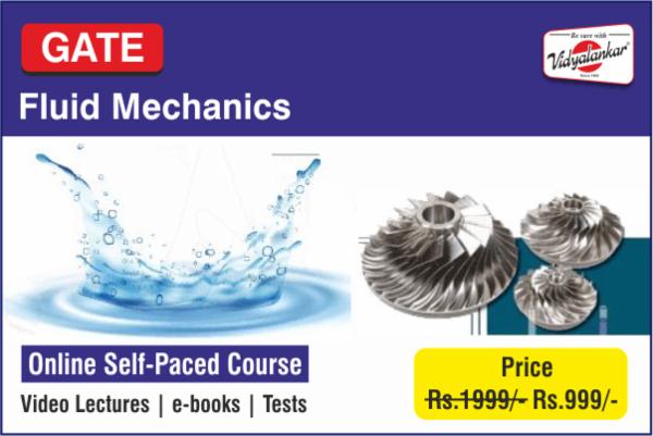 GATE : Fluid Mechanics cover