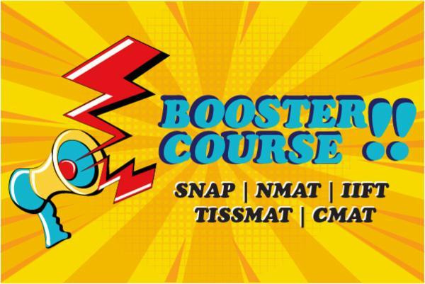 BOOSTER COURSE- MH-CET | SNAP | NMAT | IIFT | TISS-MAT | CMAT cover