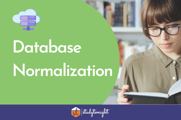 Database Normalization cover