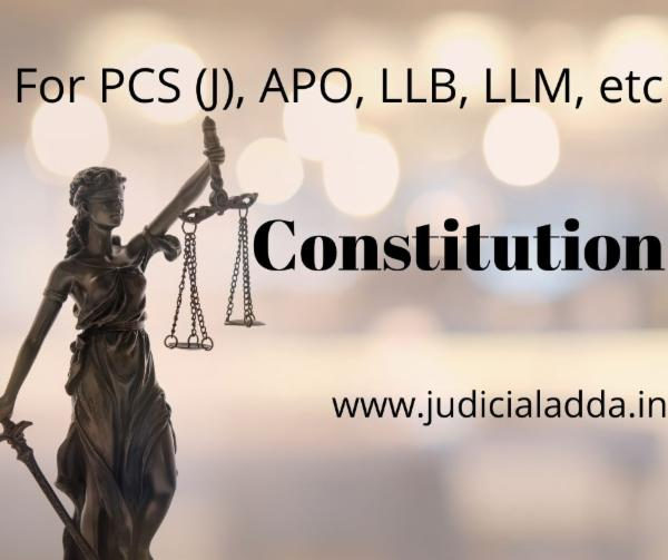 Indian Constitution cover