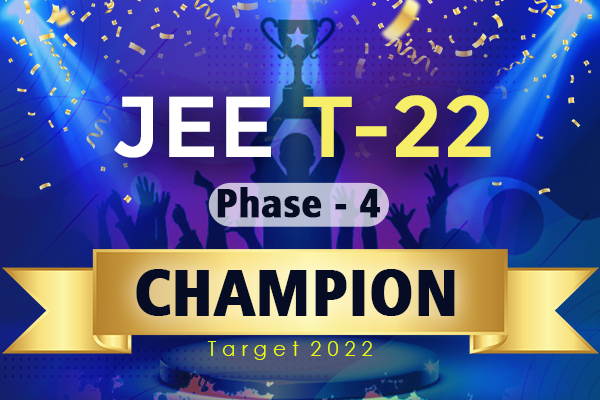 JEE Champion T-22 Phase-4 cover